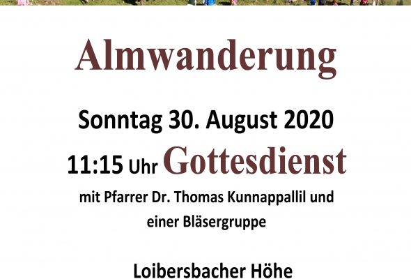 ÖVP Frauen Faistenau laden herzlich zur Bergmesse ein